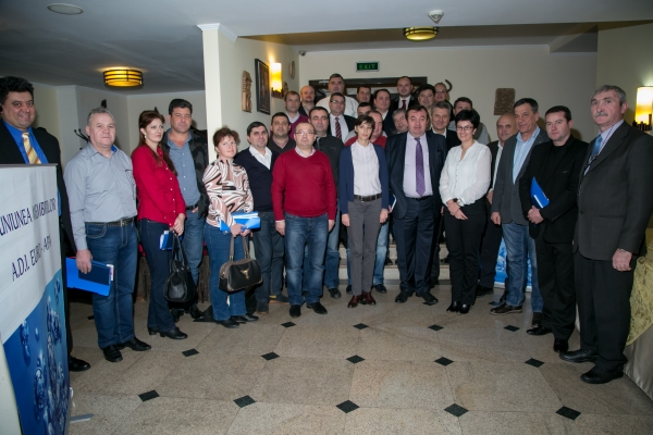 Participantii la Reuniunea membrilor ADI Euro-Apa 2014